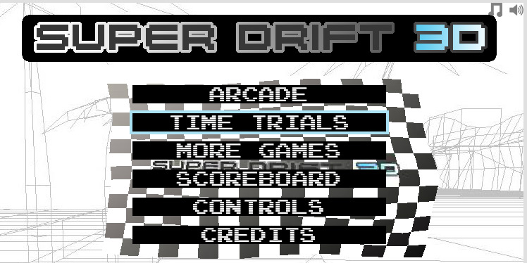 Click to play Super Drift 1