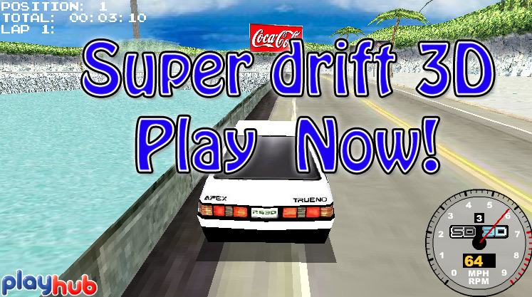 Click to play Super Drift 3D